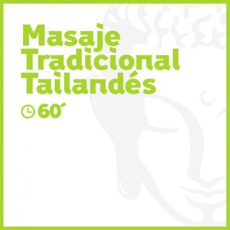 Masaje Tradicional Tailandés - 60 minutos