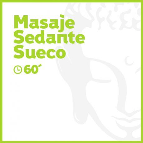 Masaje Sedante Sueco - 60 minutos