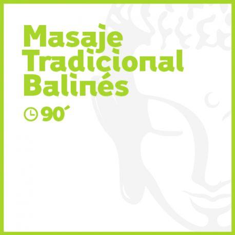 Masaje Tradicional Balinés - 90 minutos