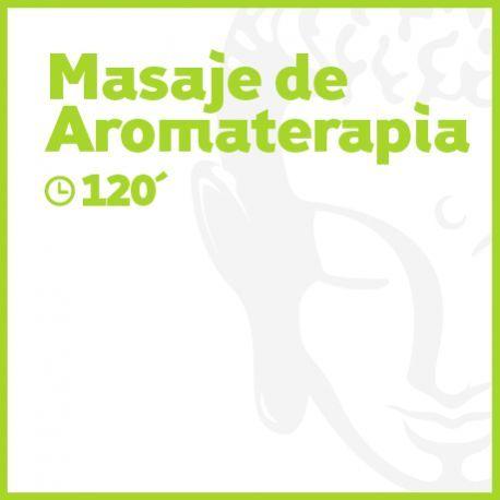 Masaje de Aromaterapia - 120 minutos