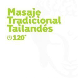 Masaje Tradicional Tailandés - 120 minutos