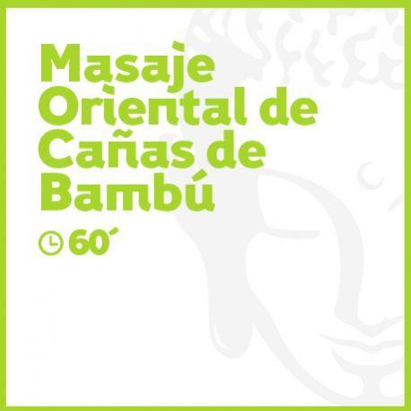 Masaje Oriental de Cañas de Bambú - 60 minutos