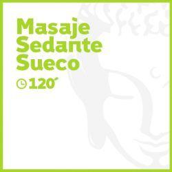 Masaje Sedante Sueco - 120 minutos
