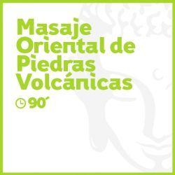 Masaje Oriental de Piedras Volcánicas - 90 minutos