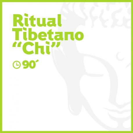 Ritual Tibetano 'CHI' - 90 minutos