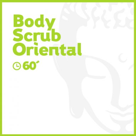 Body Scrub Oriental - 60 minutos