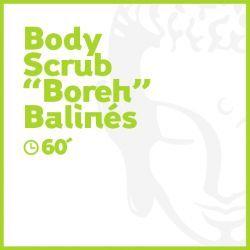 Body Scrub 'Boreh' Balinés - 60 minutos